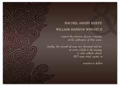 Online Software Template Blank Wedding Invitation