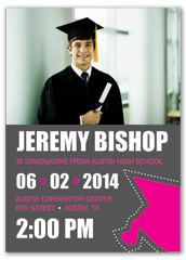 Make Your Own Graduation Invitation Example