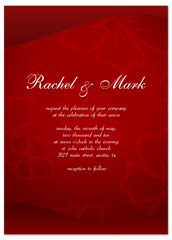 Examples  Chinese Traditional Personalized Wedding Invitation