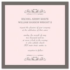 Western American Style Wedding Invitation Templates